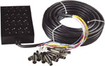 Multicore kabel se Stage Boxem 12IN/4OUT XLR