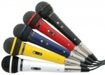 Skytec sada mikrofonů 5 barev