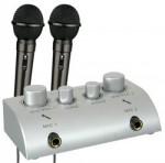 Skytronic karaoke set se 2 mikrofony