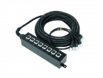 Multicore kabel se Stage boxem 8 IN XLR/XLR 20m