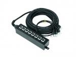 Multicore kabel se Stage boxem 8 IN XLR/XLR 20m