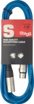 Stagg SMC3 CBL kabel mikrofonní XLR/XLR 3m