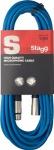 Stagg SMC10 CBL kabel mikrofonní XLR/XLR 10m