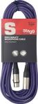 Stagg SMC10 CPP kabel mikrofonní XLR/XLR 10m