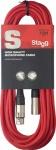 Stagg SMC10 CRD kabel mikrofonní XLR/XLR 10m