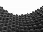 Akustický tlumící panel vlnky 40mm rozměr 50x100cm