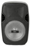 QTX Party Box 8, Bluetooth, MP3, FM, VHF mikrofon, LED osvětlení