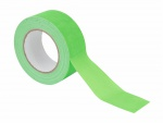 Gaffa páska 50mm x 25m neonově zelená, UV aktivní
