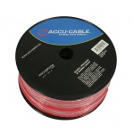 Accu-Cable AC-MC/100R-R Microcable roll, 100m, red