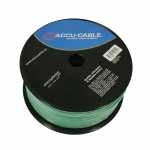 Accu-Cable AC-MC/100R-G Microcable roll 100m, green