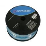 Accu-Cable AC-MC/100R-BL Micro roll, 100m, blue