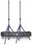 Stagg SPS10-AL BK SET, set reproduktorových stojanů