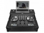 UDGUltimate Flight Case NI Kontrol S2 MK3 Black Plus (Laptop shelf)