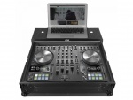 UDG Ultimate Flight Case NI Kontrol S4 MK3 Black Plus (Laptop shelf)