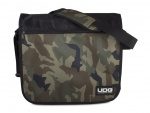 UDG Ultimate CourierBag Black Camo, Orange inside