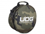 UDG Ultimate Digi Headphone Bag Black Camo, Orange inside