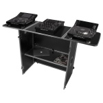 UDG Ultimate Fold Out DJ Table Silver MK2 Plus (Wheels)
