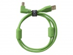 UDG Ultimate Audio Cable USB 2.0 A-B Green Angled 3m