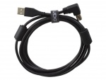 UDG Ultimate Audio Cable USB 2.0 A-B Black Angled 1m