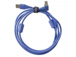 UDG Ultimate Audio Cable USB 2.0 A-B Blue Angled 1m