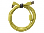 UDG Ultimate Audio Cable USB 2.0 A-B Yellow Angled 1m