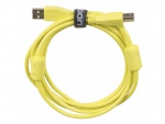 Ultimate Audio Cable USB 2.0 A-B Yellow Straight 3m