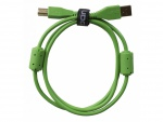 UDG Ultimate Audio Cable USB 2.0 A-B Green Straight 1m