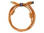 UDG Ultimate Audio Cable USB 2.0 A-B Orange Straight 1m