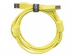 UDG Ultimate Audio Cable USB 2.0 A-B Yellow Straight 1m
