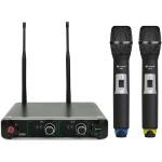Chord NU2-H duální UHF ruční bezdrátový mikrofonní systém 864.8+863.1