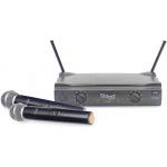 Stagg SUW 50 MM EG UHF mikrofonní set 2 kanálový 2x ruční mikrofon