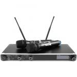Omnitronic UHF-302 2-kanálový mikrofonní systém 823-832/863-865 MHz