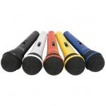 QTX sada dynamických mikrofonů XLR 5 barev
