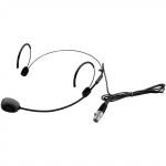 Omnitronic UHF-300 náhlavní mikrofon černý