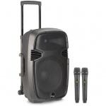 "Stagg RE-VOLT15U EU mobilní 15"" zvukový systém BT/2x UHF"