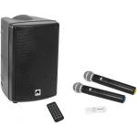 Omnitronic Set WMAS-08BT MK2 wireless PA system + UWM-2HH USB bezdrátové mikrofony