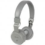 AV:link PBH-10 bezdrátová Bluetooth SD sluchátka tmavě šedá
