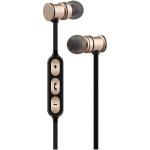 AV:link EMBT1-GLD magnetická Bluetooth sluchátka do uší zlatá