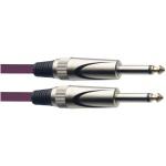 Stagg SGC3DL CPP kabel JACK/JACK 3 m fialový