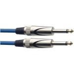 Stagg SGC6DL CBL kabel JACK/JACK 6 m modrý