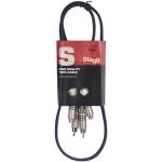 Stagg STC1CMCF Twin kabel