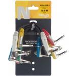 Stagg NPC010LR-6 propojovací kabely 6x mono JACK/mono JACK 10 cm