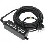 Omnitronic multicore kabel se stageboxem 6IN XLR 20 m