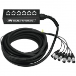 Omnitronic multicore kabel se stageboxem 6IN XLR 10 m