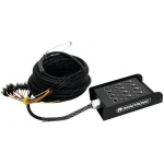 Omnitronic multicore kabel se stageboxem 8IN/4OUT XLR 30 m