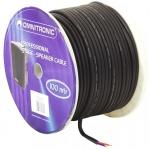 Kabel reproduktorový 2x2.5mm černý cena / m