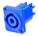 Neutrik PowerCon blue panel NAC3 MPA