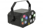 QTX Gobo Starwash LED světelný efekt Derby/Laser/Wash