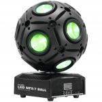 Eurolite LED BALL 9x 15W QCL DMX paprskový efekt