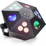 Stagg SLE-TRANCE60-2 hybridní LED světelný efekt s RG laserem a Strobo